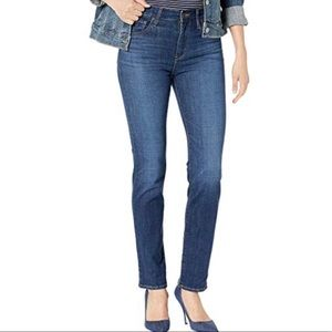 Levis 512 Slim Fit Straight Leg Jeans